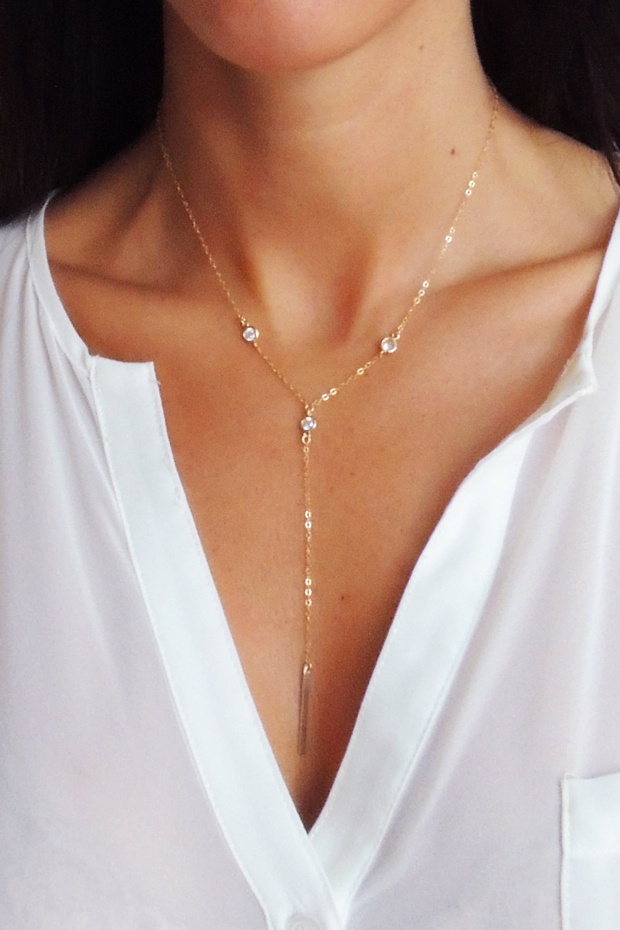 Christine Elizabeth Jewelry, delicate neckalce