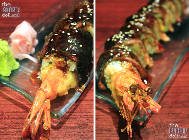 Ginzadon Dragon Roll Maki