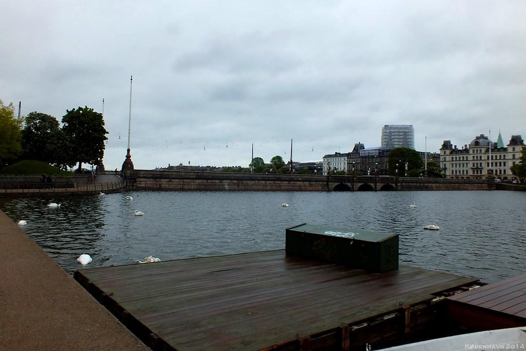 Peblinge Sø and Dronning Louises Bro, København, Denmark