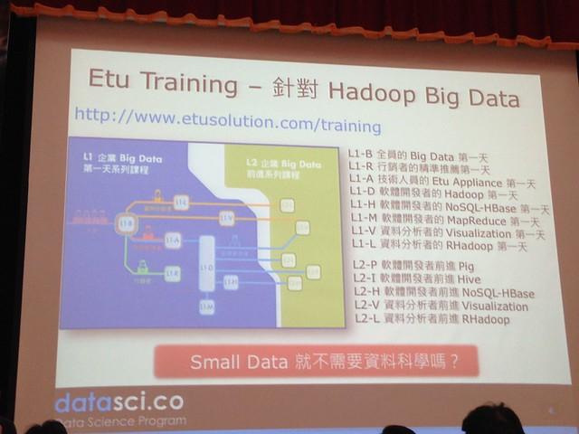 巨量資料與小資料都需要分析技巧