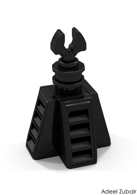 LEGO Minifigure Scale Lego Sets - Tower of Orthanc (10243)