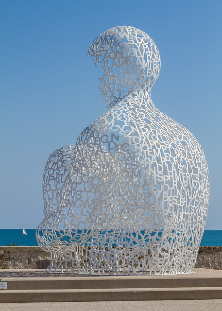 The Nomad by Jaume Plensa 1