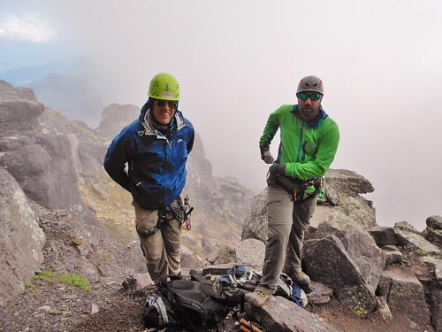 Mark and Seth Ready to Climb Dallas Peak
