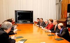 Reunião com os presidentes dos partidos aliados