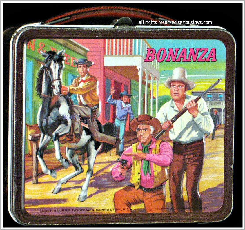 1965 bonanza lunch box