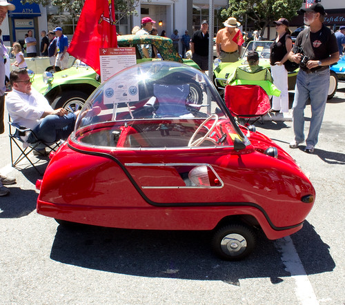 Peel Trident at The Little Car Show - Pacific Grove, August 14, 2014