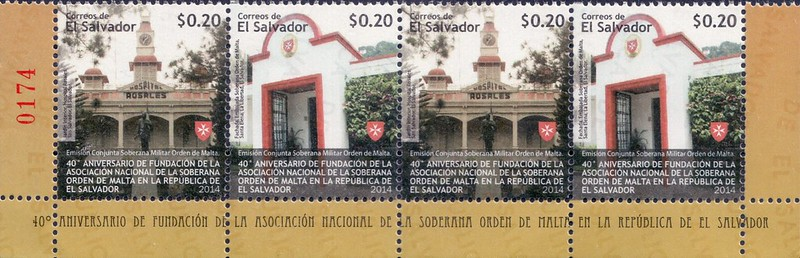 20140625 40° fondazione associazione De La Soberana - El Salvador - 2 pairs+label