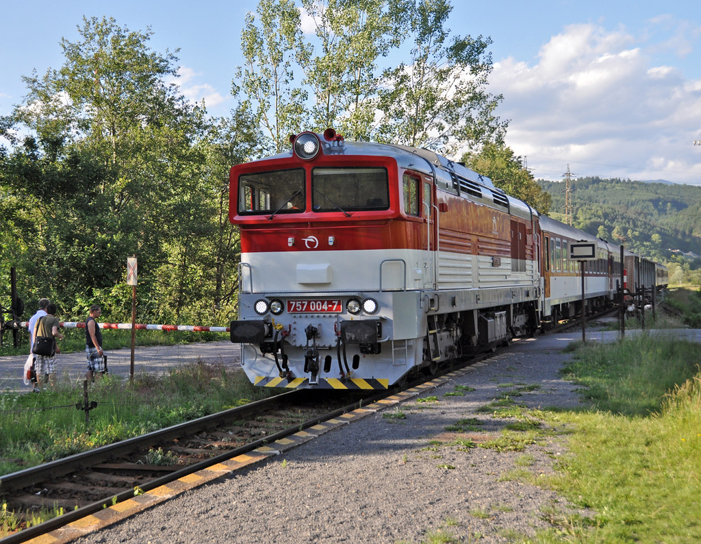 The country Railway, Slovakia style.