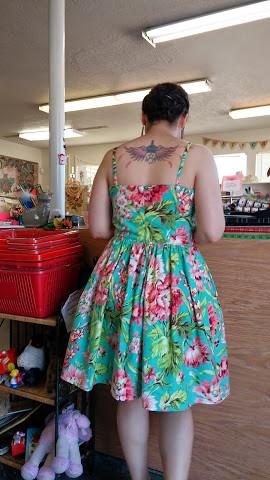 Vogue 2429 - birthday dress