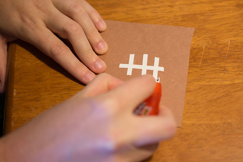 Football Candy Bar Wrappers Drawing Laces