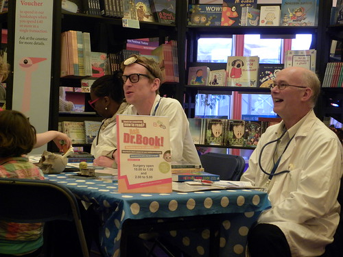 Dr Book at Edinburgh International Book Festival
