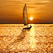 Sailing off into the Sunset by adrians_art