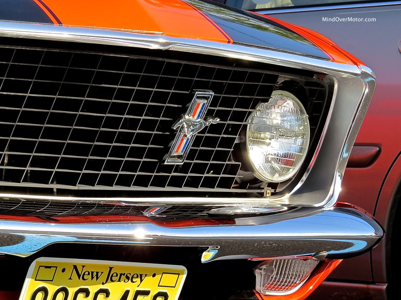 1969 Ford Mustang Badge Detail