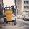 #Louisville crosswalks reminding us to rock on. (But that totally could have gone another way.) #downtown #pedestrian