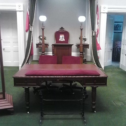 The Speaker's chair, Legislative Assembly #princeedwardisland #pei #charlottetown #provincehouse