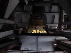 Urbex Malmö. Binnenin fabriek bij staalgietunits