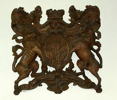 wooden Royal Arms of Hanover