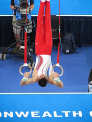 sports, gymnastics, gymnast, artistic gymnastics, rings, athlete,
