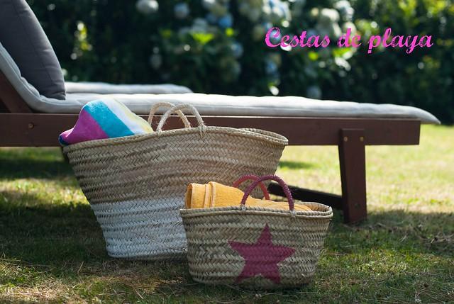 cestas de playa