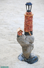 BeachPebbleLighthouseSculpture9