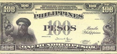 Philippines 100 Pesos Series of 1941
