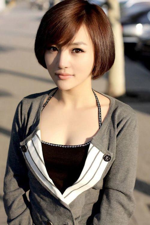 Các kiểu tóc ngắn đẹp! Tóc ngắn ép, uốn xoăn Hàn Quốc 19