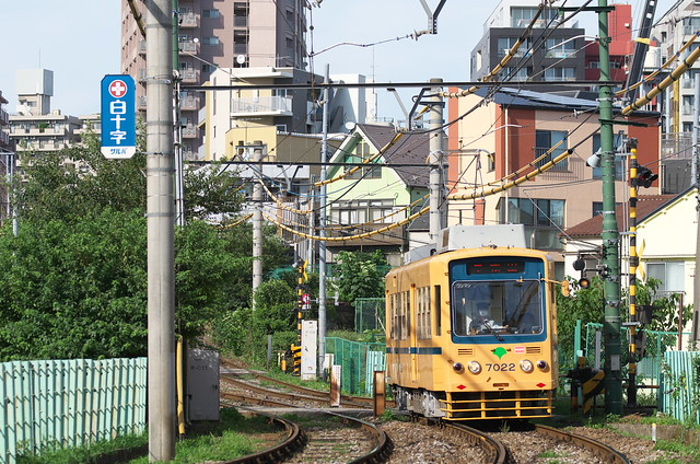 Tokyo Train Story 夏の都電荒川線 2014年8月15日