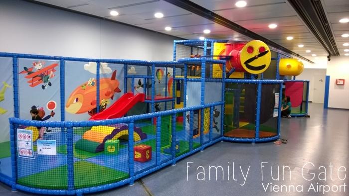 Family Fun Gate Vienna Airport Flughafen Wien Schwechat