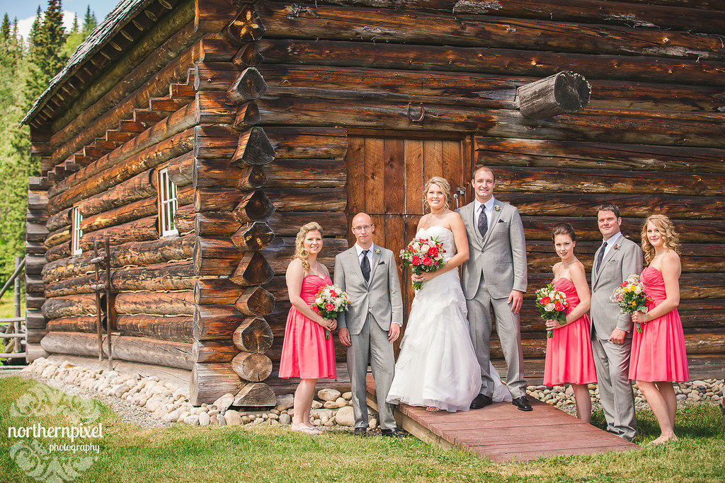 Bridal Party at Huble Homestead