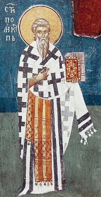 Sfantul Sfintit Mucenic Policarp al Smirnei