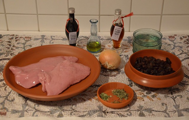 Vitellina fricta (fried veal) - Ingredients