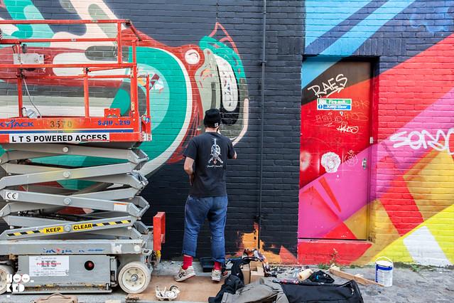 REKA London Mural