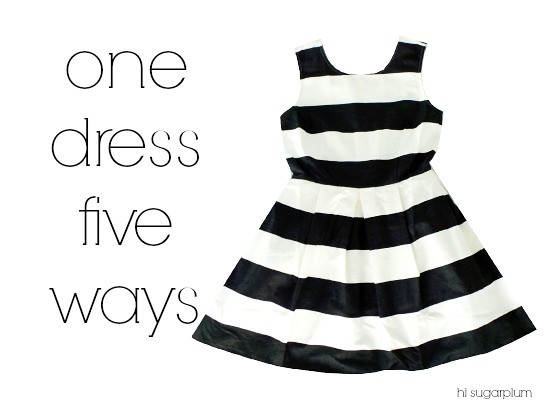 Hi Sugarplum | 1 Dress 5 Ways