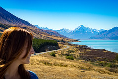 The Road to Mount Cook, NZ
