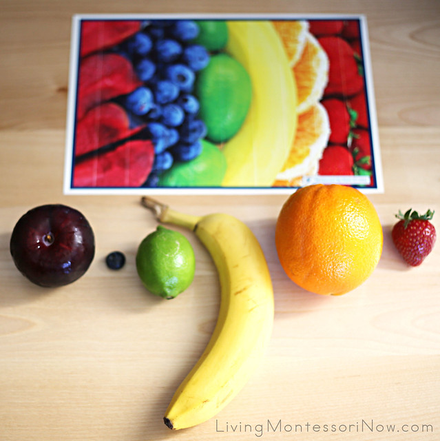 Fruit Puzzle with Fruits