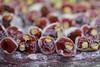 pomegranate lokum