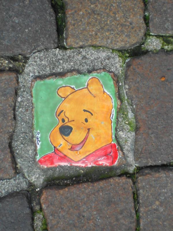 Winnie the Pooh, i cubetti del borgo, Bardolino