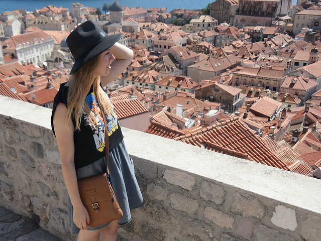 Croatia Dubrovnik fashion blogger outfit post