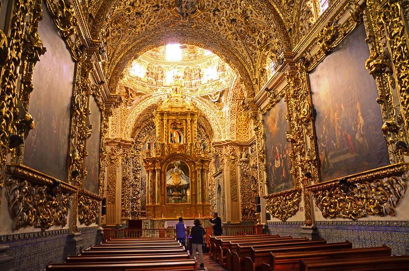 Capilla del Rosario, Puebla, Mex