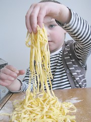 Lightly flour the pasta so it doesn't stick t…