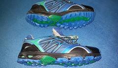 Krosové boty z Lidlu za 499 kaček mě naprosto uchvátily