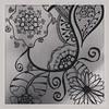 Zentangle / henna mash up