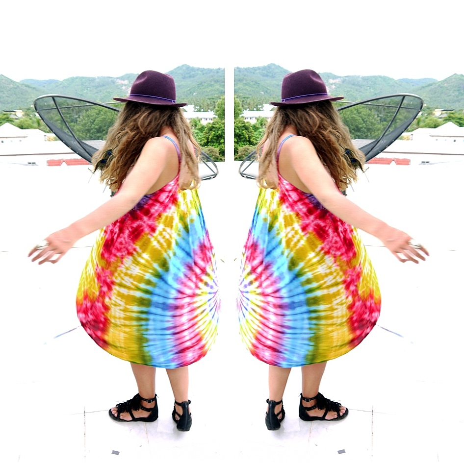 Tie Dye Dress // Thailand - Kirsty Wears Blog