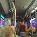 Bus through Times Square