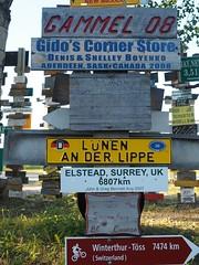 Signpost Forest, Watson Lake, Yukon.