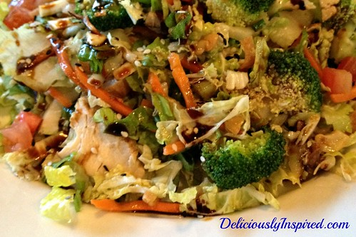 Chopped Cashew Chicken Salad - K. Strauss
