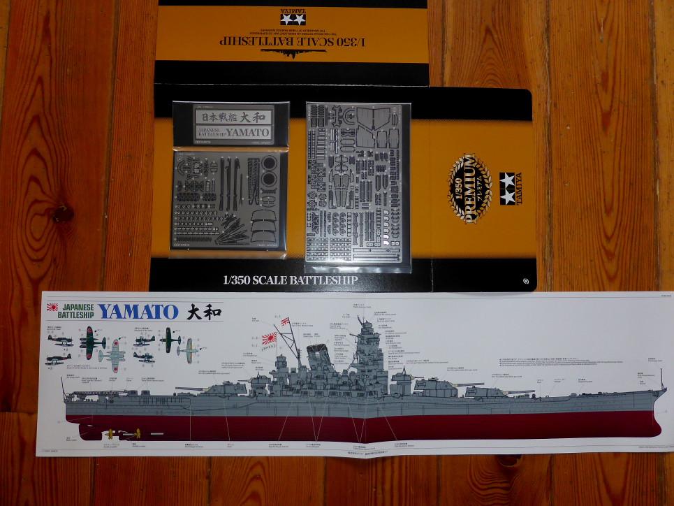 Yamato Premium 1/350 Tamiya - International Scale Modeller