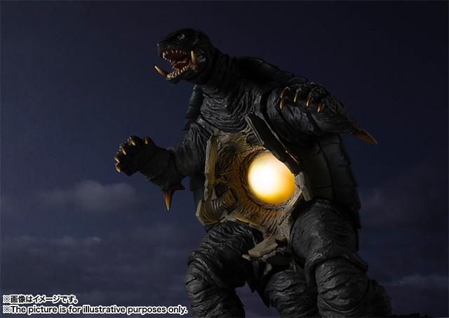 S.H.MonsterArts ガメラ 卡美拉(1996)