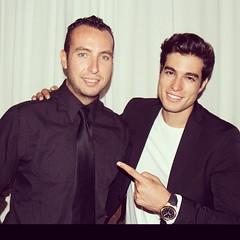 Duelo de galanes!? Junto al actor, presentador, modelo y amigo @danilocarrerah Arriba #Ecuador #Mexico #Miami @centurytalent @Univision @Juanccollazos