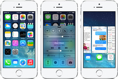 Apple  iOS 7 software update for 5th Generation